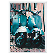 Buy House by John Lewis, Scott Dunwoodie - Twin Vespa Unframed Print, 30 x 40cm Online at johnlewis.com