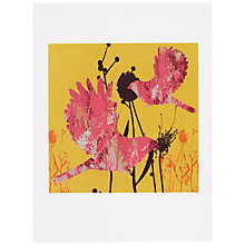 Buy House by John Lewis, Tiffany Lynch - Two Birdys Unframed Print, 24 x 30cm Online at johnlewis.com