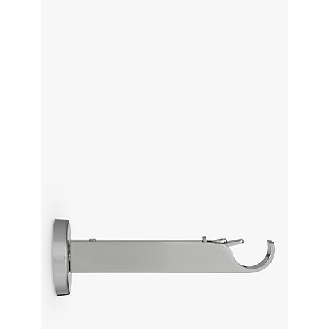 Buy John Lewis Steel Contemporary Side/Centre Bracket, Dia.19mm Online at johnlewis.com