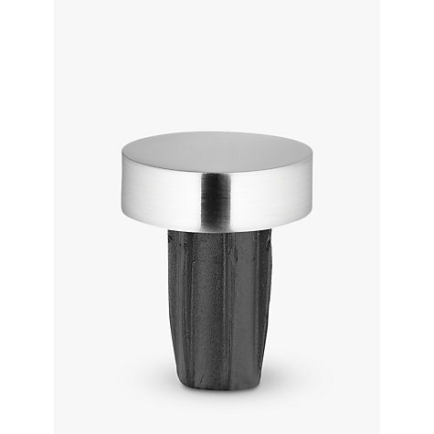 Buy John Lewis Steel Curtain Stud Finial, Dia.19mm Online at johnlewis.com
