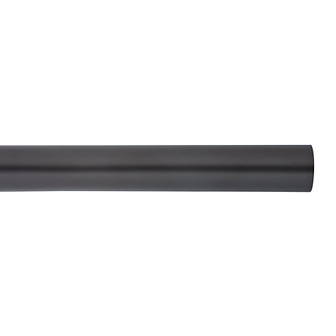 Buy John Lewis Black Curtain Pole, L180cm x Dia.19mm Online at johnlewis.com