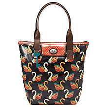 Buy Fossil Key Per Tote Handbag, Black Multi Online at johnlewis.com