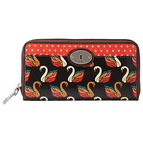 Buy Fossil Key Per Zip Clutch Purse Online at johnlewis.com