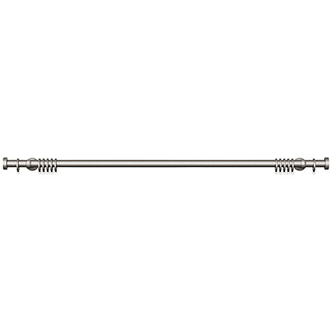 Buy John Lewis Steel Curtain Pole Kit, Contemporary Brackets, L180cm x Dia.28mm Online at johnlewis.com