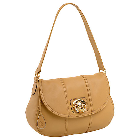 Buy Tula Betty Medium Shoulder Handbag, Beige Online at johnlewis.com