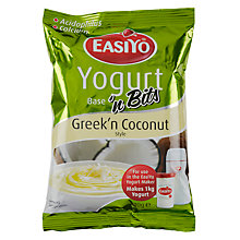 Buy Easiyo Yogurt Maker Mix Sachet, Greek Style with Coconut Online at johnlewis.com