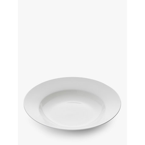 Buy Royal Worcester Serendipity Bone China 23.5cm Soup Plate, White Online at johnlewis.com