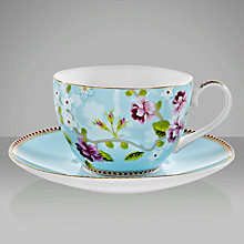 Buy PiP Studio Shabby Chic Cappuccino Cup and Saucer Online at johnlewis.com