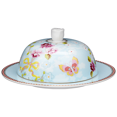 PiP Studio Shabby Butter Dish, Blue