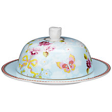 Buy PiP Studio Shabby Butter Dish, Blue Online at johnlewis.com