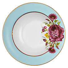 Buy PiP Studio Shabby Chic Pasta Plate, Blue Online at johnlewis.com