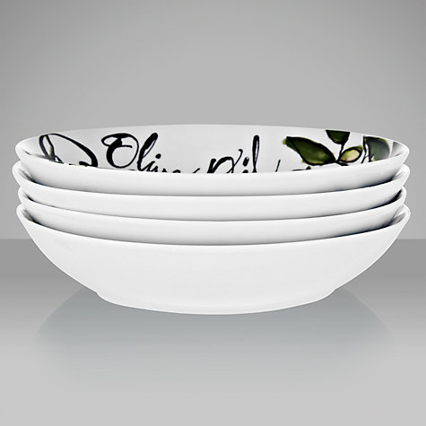 Buy DRH Collection Rosanna Olive Oil Pasta Bowls, Box of 4 Online at johnlewis.com