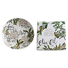 Buy DRH Collection Rosanna Olive Oil Serving Bowl Online at johnlewis.com