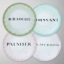 Buy DRH Collection Rosanna Petit Dejeuner Side Plate, Set of 4 Online at johnlewis.com