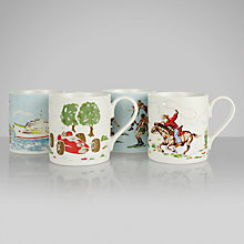 Buy Cath Kidston Boys Larch Mug, Set of 4 Online at johnlewis.com