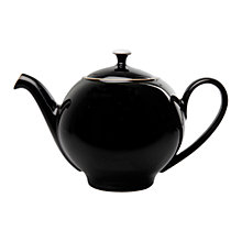 Buy Denby Eclipse Teapot, 1.25L, Black Online at johnlewis.com