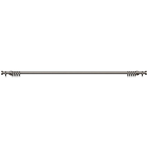 Buy John Lewis Steel Curtain Pole Kit, Contemporary Brackets, L120cm x Dia.19mm Online at johnlewis.com