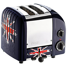 Buy Dualit NewGen Toaster, 2-Slice, Union Jack Online at johnlewis.com