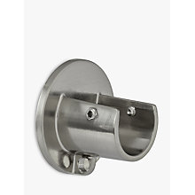 Buy John Lewis Steel Recess Bracket, Dia.19mm Online at johnlewis.com
