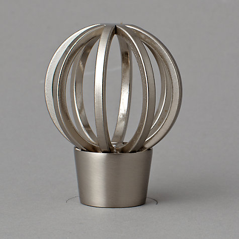 Buy John Lewis Steel Cage Finial, Dia.19mm Online at johnlewis.com