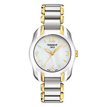 Buy Tissot T0232102211700 Women's T-Wave Two-tone Bracelet Watch, Silver / Gold Online at johnlewis.com