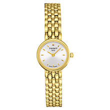 Buy Tissot T0580093303100 Women's Gold Bracelet Watch, Gold Online at johnlewis.com