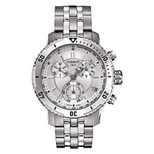 Buy Tissot Men's PRS200 Chronograph Bracelet Watch Online at johnlewis.com