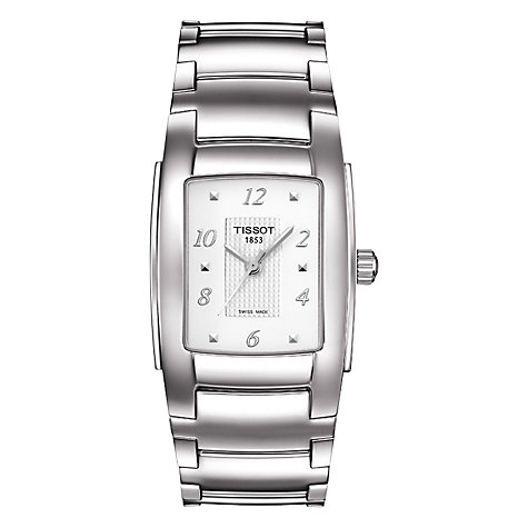 Buy Tissot Women's T10 Bracelet Watch Online at johnlewis.com