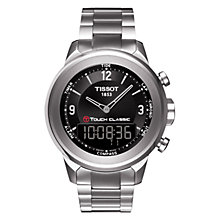 Buy Tissot Men's Classic Bracelet Watch Online at johnlewis.com