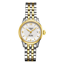 Buy Tissot T41218334 Women's Le Locle Two-tone Bracelet Watch, Gold / Silver Online at johnlewis.com