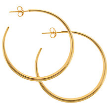 Buy Dinny Hall Classic Hoop Stud Earrings Online at johnlewis.com