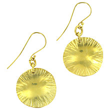 Buy Made Ibati Drop Earrings, Gold Online at johnlewis.com