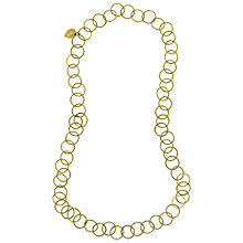 Buy Made Kikuku Necklace, Gold Online at johnlewis.com