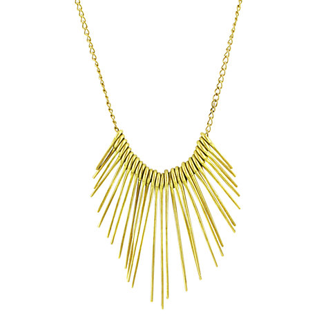 Buy Made Mukwanju Pendant Necklace, Gold Online at johnlewis.com