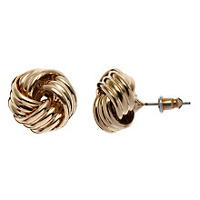 Buy John Lewis Knot Stud Earrings Online at johnlewis.com