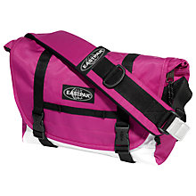 Buy Eastpak Kruizer Messenger Bag, Velo Pink Online at johnlewis.com