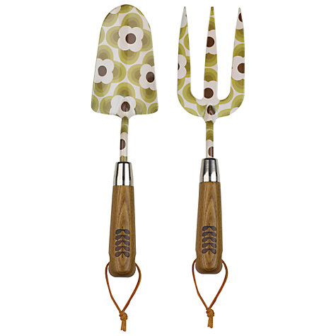 Buy Orla Kiely Gardening Fork Online at johnlewis.com