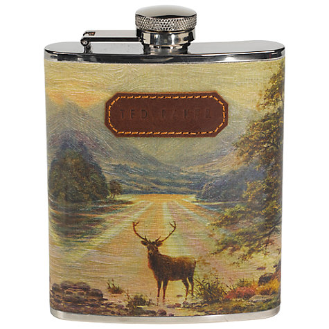 Buy Ted Baker Stag Hip Flask Online at johnlewis.com