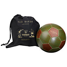 Buy Ted Baker Tweed Football Online at johnlewis.com