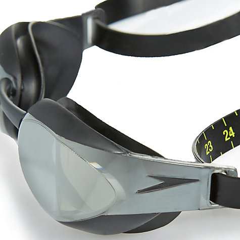 Buy Speedo Fastskin Elite Mirror Goggle, Black/Smoke Online at johnlewis.com