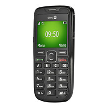 Buy Doro 510, Phone, Sim Free, Black Online at johnlewis.com