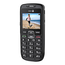 Buy Doro 515, Phone, Sim Free, Black Online at johnlewis.com