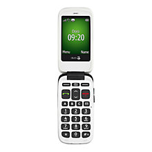Buy Doro 615, Flip Phone, Sim Free, Black Online at johnlewis.com