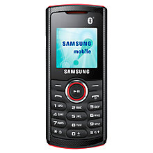 Buy Samsung E2121, Sim Free Mobile Phone Online at johnlewis.com