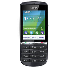 Buy Nokia Asha 300 Smartphone, Sim Free, Graphite Online at johnlewis.com