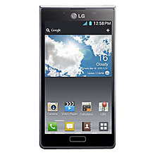 Buy LG Optimus L7 Smartphone, Sim Free, Black Online at johnlewis.com