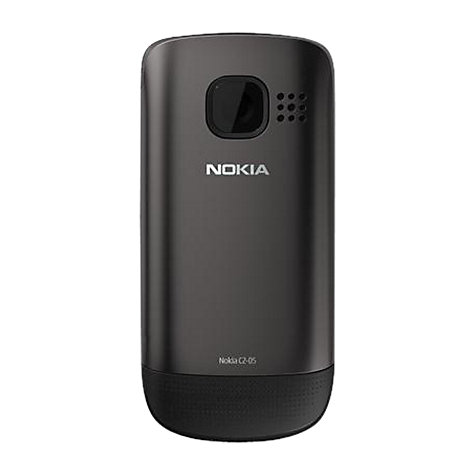 Buy Nokia C2-05 Phone, SIM Free, Black Online at johnlewis.com