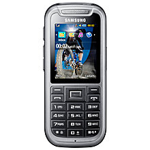 Buy Samsung C3350 Solid X Cover, Sim Free Mobile Phone Online at johnlewis.com