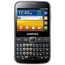 Buy Samsung Galaxy Y Pro, SIM Free, Grey Online at johnlewis.com