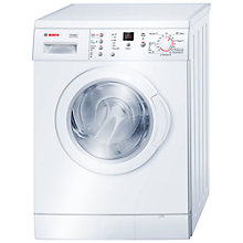 Buy Bosch Classixx WAE24368GB Washing Machine, 7kg Load, A++ Energy rating, 1200rpm Spin, White Online at johnlewis.com